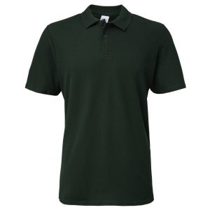 men's polo forest green