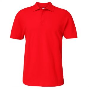 mens polo red