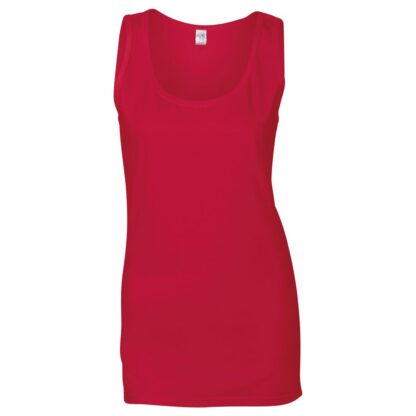 lady's vest red
