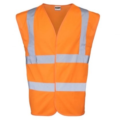 orange hi-vis vest