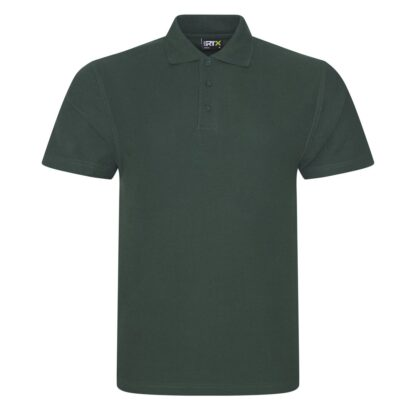 bottle green polo