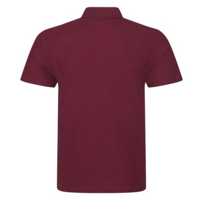 burgundy polo back
