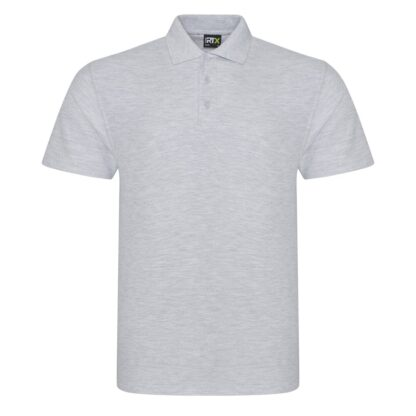 heather grey polo