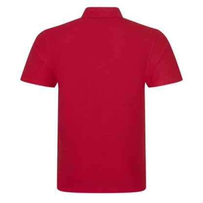 red polo back