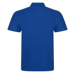 royal blue polo back