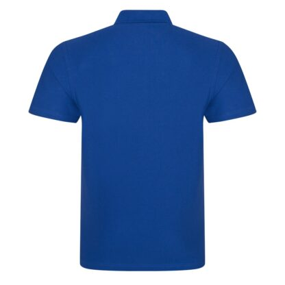 royal blue polo back