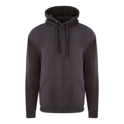 solid grey hoody