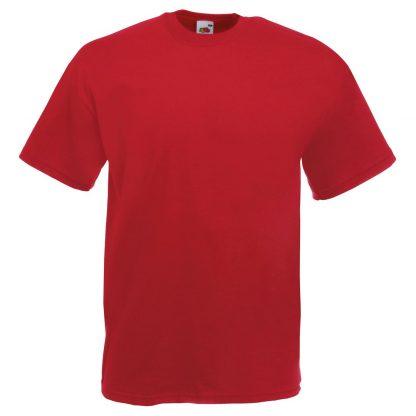 regular fit red
