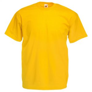 regular fit yellow