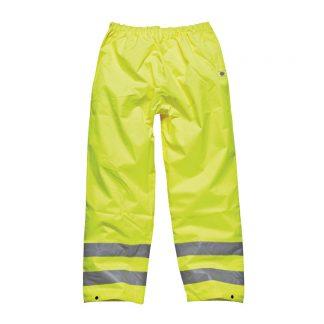 yellow hi-vis trousers
