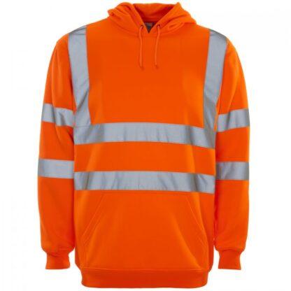 hi vis hoody orange