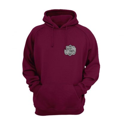 embroidered sports hoody
