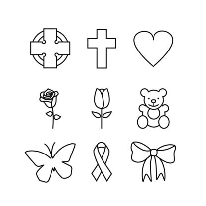 engraving icons