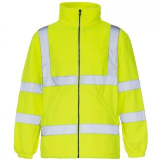 hi-vis fleece