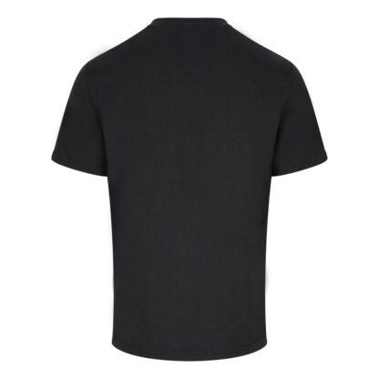 t-shirt black reverse