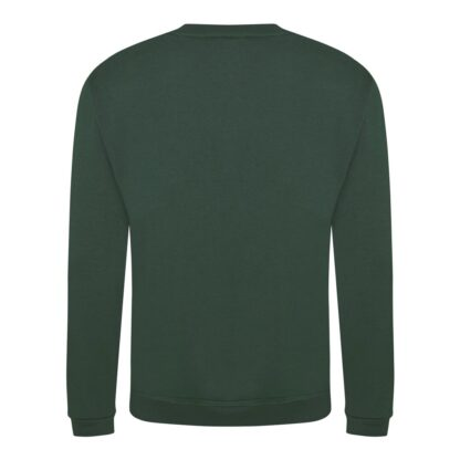 bottle green sweatshirt back