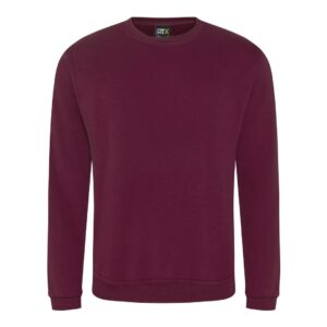 burgundy sweatshirt