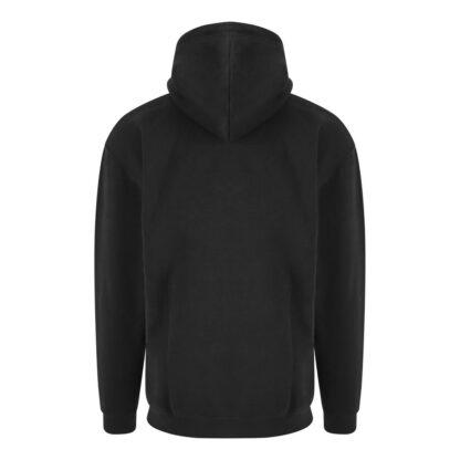 hoody black reverse