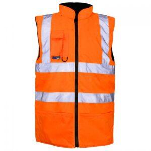 hi-vis body warmer