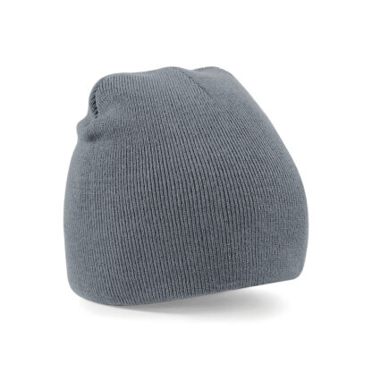 graphite grey beanie