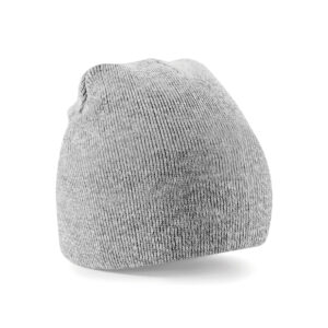 heather grey beanie