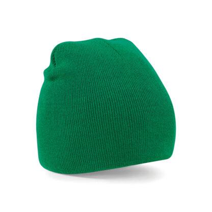 kelly green beanie