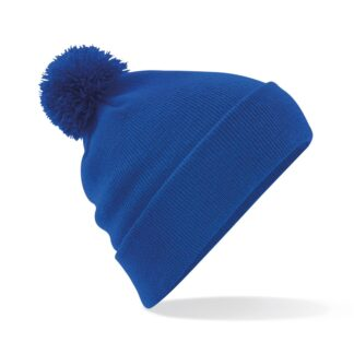 Pom Pom Beanie royal blue