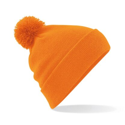 Pom Pom Beanie orange