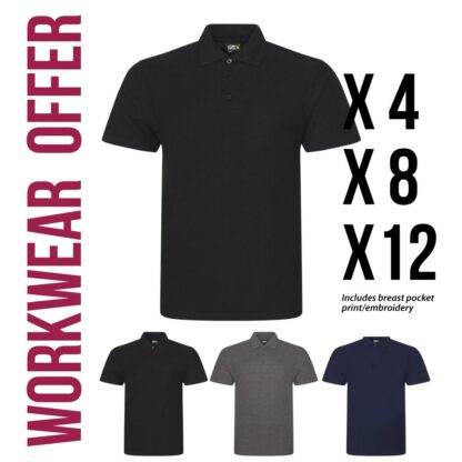 workwear polo tshirt paCKS