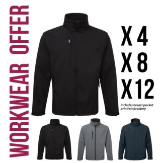 workwear softshell jacket offers