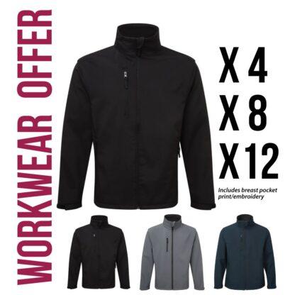 workwear softshell jacket offers