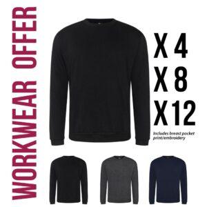workwear sweatshirt offer