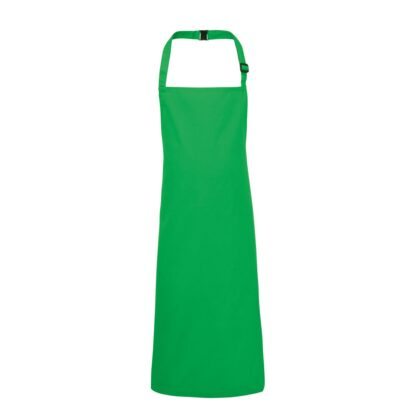 Kids apron kelly green