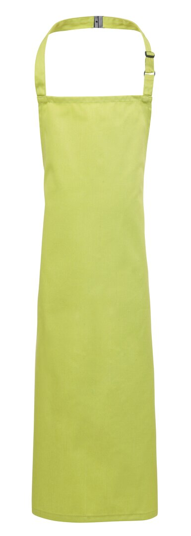 Kids apron lime green