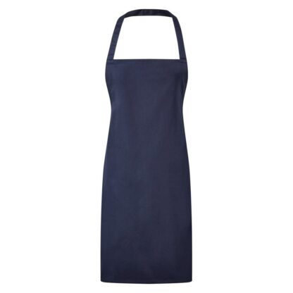 3 pocket bib apron navy