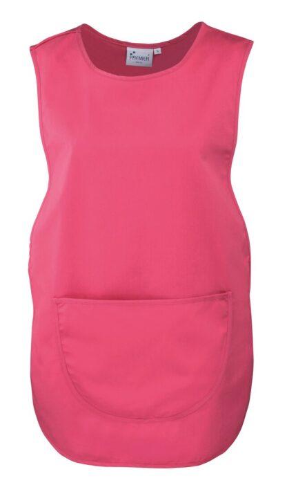 pocket tabard pink