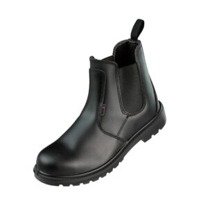 Warrior Black Dealer Style Safety Boot
