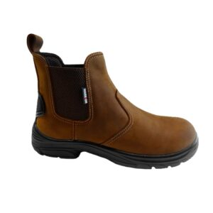 Warrior Waxy Brown Leather Dealer Boot