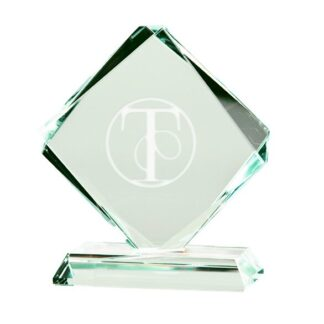 glass award engraving