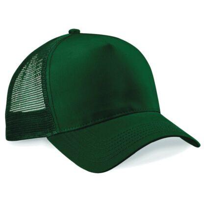 snapback trucker cap bottle green