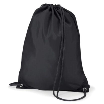 Polyester Gymsac black