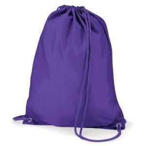 Polyester Gymsac Purple