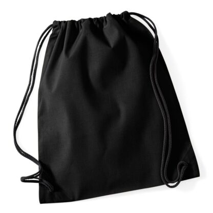 Cotton Gymsac black