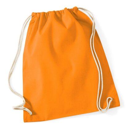 Cotton Gymsac orange