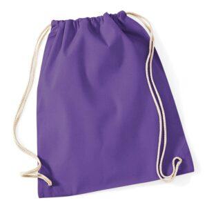 Cotton Gymsac purple