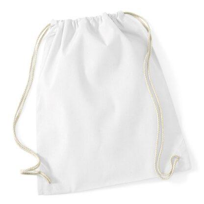 Cotton Gymsac White