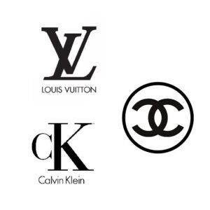 designer clothing monograms